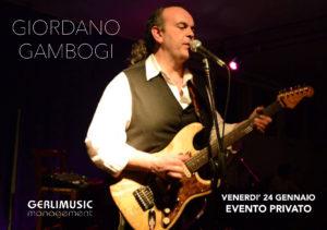 Giordano Gambogi live in trio