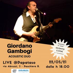 Giordano Gambogi – Acoustic DUO